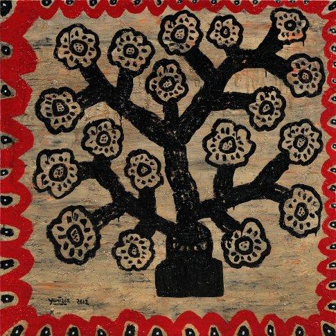 <span class=&#34;artist&#34;><strong>Yunizar</strong></span>, <span class=&#34;title&#34;><em>Bunga Hitam (Black Flowers)</em>, 2012</span>