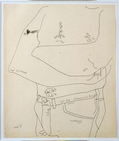 <em>Drawing for &#34;Boy Book&#34;</em>, 1956