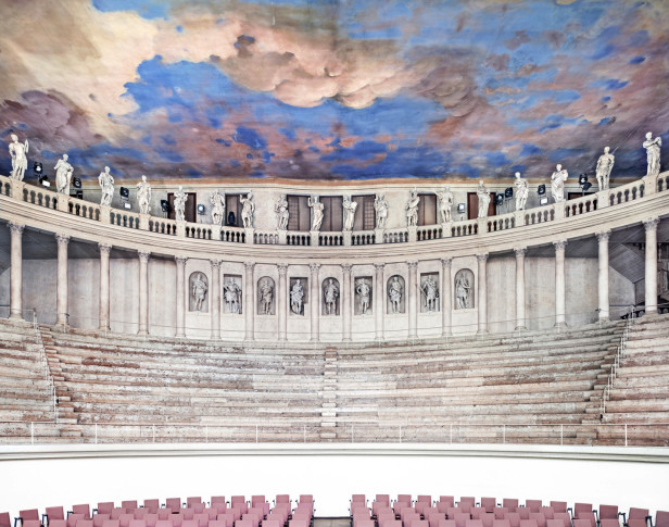 """<span class=""""artist""""><strong>Candida Höfer</strong></span>, <span class=""""title""""><em>Teatro Olimpico Vicenza I 2010</em></span>"""