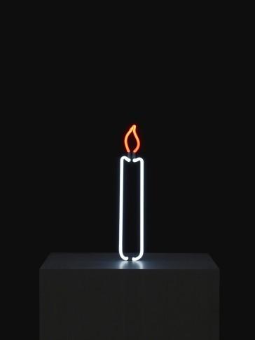 <em>Neon Candle</em>, 2013