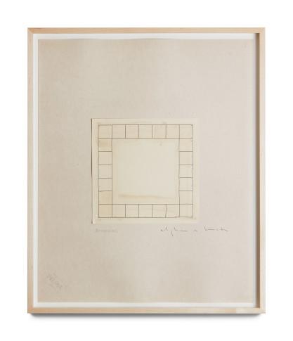 <span class=&#34;artist&#34;><strong>Alighiero Boetti</strong></span>, <span class=&#34;title&#34;><em>Senza Titolo (Autodisporsi)</em>, c. 1975</span>