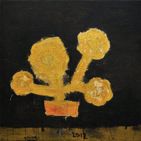<span class=&#34;artist&#34;><strong>Yunizar</strong></span>, <span class=&#34;title&#34;><em>Bunga Kuning (Yellow Flower)</em>, 2012</span>
