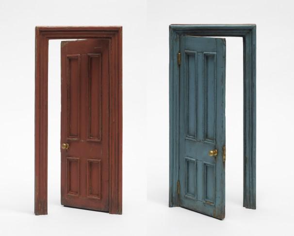 <em>Small Door (Terracotta & Blue)</em>, 2013