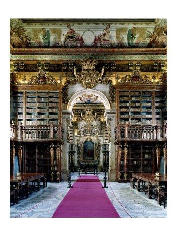 <span class=&#34;artist&#34;><strong>Candida Höfer</strong></span>, <span class=&#34;title&#34;><em>Biblioteca Geral da Universidade de Coimbra V 2006</em></span>