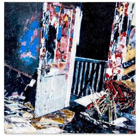 """<span class=""""artist""""><strong>Enoc Perez</strong></span>, <span class=""""title""""><em>7 Reece Mews Kensington, London, Studio of Francis Bacon</em>, 2019</span>"""