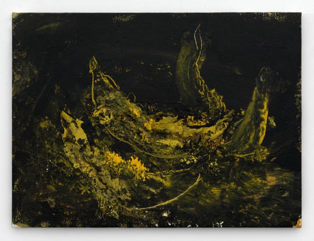 """<span class=""""artist""""><strong>Miquel Barceló</strong></span>, <span class=""""title""""><em>3 Tranches de Melon</em>, 1998</span>"""