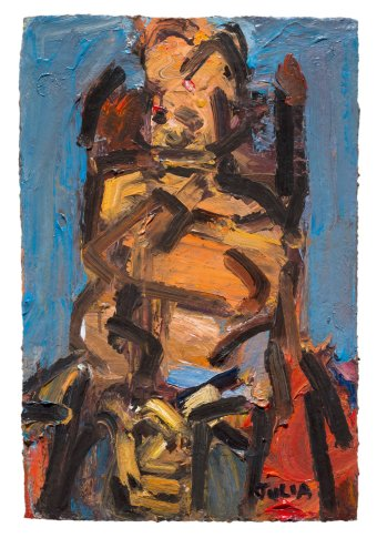 <span class=&#34;artist&#34;><strong>Frank Auerbach</strong></span>, <span class=&#34;title&#34;><em>Julia Seated II</em>, 1991</span>