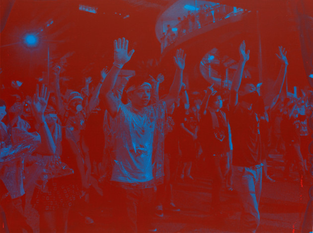 <span class=&#34;title&#34;>&#34;Hands up! Don't Shoot!&#34; (Red on Blue, Hong Kong)<span class=&#34;title_comma&#34;>, </span></span><span class=&#34;year&#34;>2018</span>
