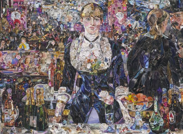 <span class=&#34;artist&#34;><strong>Vik Muniz</strong></span>, <span class=&#34;title&#34;><em>A Bar at the Folies-Bergère, after Edouard Manet</em>, 2012</span>