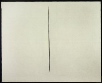 <span class=&#34;artist&#34;><strong>Lucio Fontana</strong></span>, <span class=&#34;title&#34;><em>Concetto Spaziale, Attesa</em>, 1960</span>
