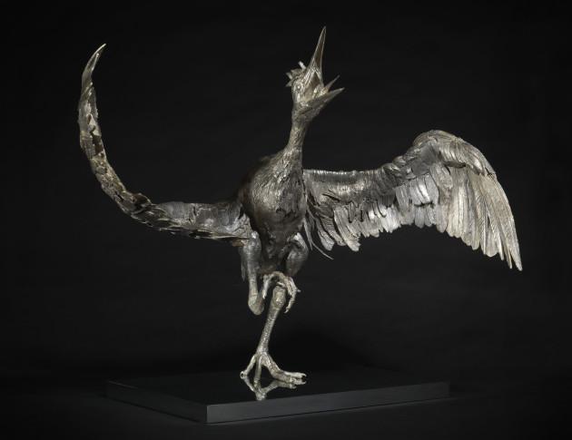 <em>Bronze Heron</em>, 2016
