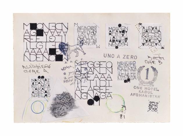 <span class=&#34;artist&#34;><strong>Alighiero Boetti</strong></span>, <span class=&#34;title&#34;><em>Senza titolo (Mariangela de Gaetano)</em>, 1979-81</span>