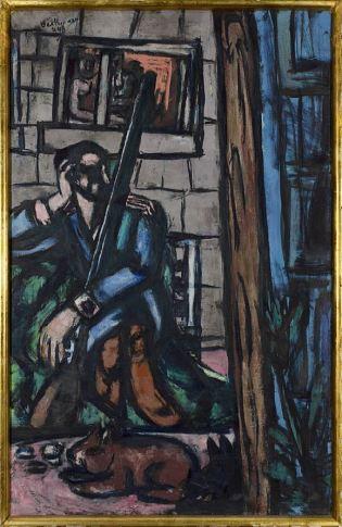 <span class=&#34;artist&#34;><strong>Max Beckmann</strong></span>, <span class=&#34;title&#34;><em>Soldat</em>, 1947</span>