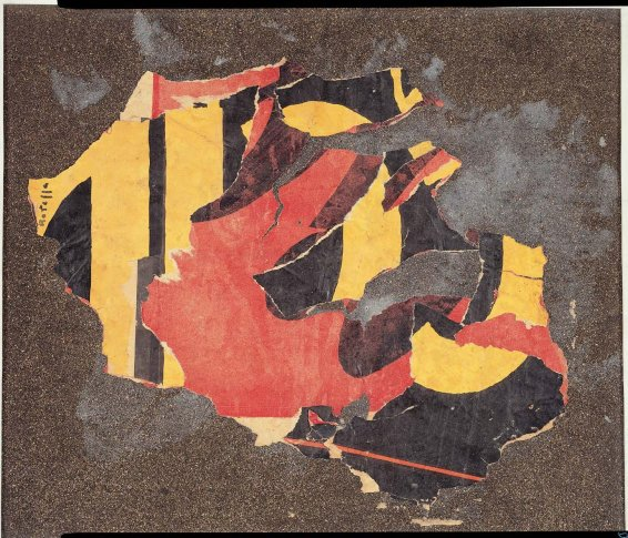 <span class=&#34;artist&#34;><strong>Mimmo Rotella</strong></span>, <span class=&#34;title&#34;><em>Senza titolo</em>, 1958</span>