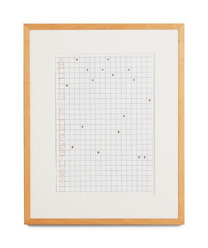 <span class=&#34;artist&#34;><strong>Alighiero Boetti</strong></span>, <span class=&#34;title&#34;><em>Francesca Dolcetti</em>, 1980</span>