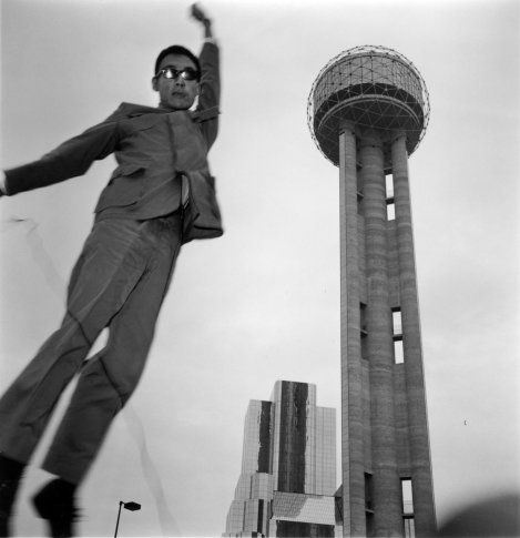 "<span class=""artist""><strong>Tseng Kwong Chi</strong></span>, <span class=""title""><em>Dallas, Texas (Tower)</em>, 1979</span>"