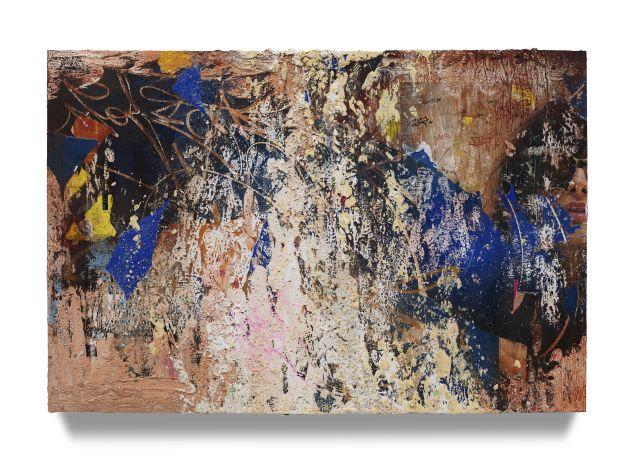 "<span class=""artist""><strong>José Parlá</strong></span>, <span class=""title""><em>Verona Street Redhook</em>, 2019</span>"