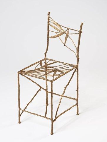 <span class=&#34;artist&#34;><strong>Claude Lalanne</strong></span>, <span class=&#34;title&#34;><em>Chaise Feuilles Bamboo (Gauche)</em>, 2010/2011</span>