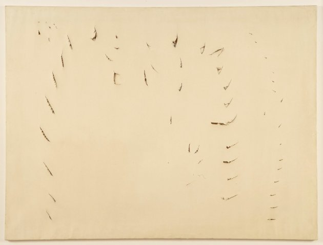 <span class=&#34;artist&#34;><strong>Lucio Fontana</strong></span>, <span class=&#34;title&#34;><em>Concetto Spaziale</em>, 1958</span>