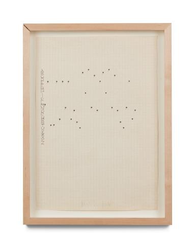 <span class=&#34;artist&#34;><strong>Alighiero Boetti</strong></span>, <span class=&#34;title&#34;><em>Mettere Nero Su Bianco E Bianco Su Nero</em>, 1972</span>