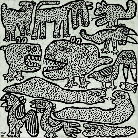 <span class=&#34;artist&#34;><strong>Yunizar</strong></span>, <span class=&#34;title&#34;><em>Animals</em>, 2011</span>