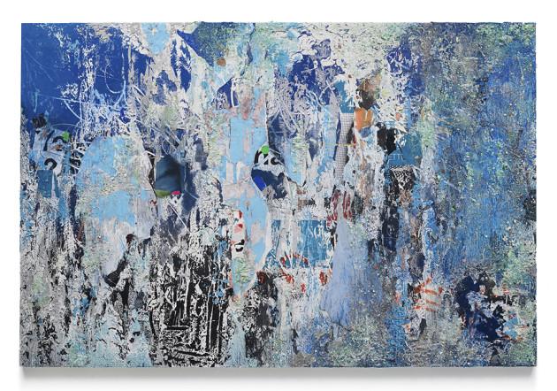 "<span class=""artist""><strong>José Parlá</strong></span>, <span class=""title""><em>Painting as Geomorphology</em>, 2019</span>"