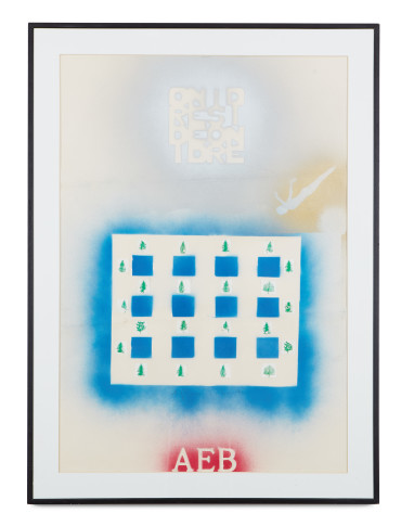 <span class=&#34;artist&#34;><strong>Alighiero Boetti</strong></span>, <span class=&#34;title&#34;><em>Ordine e Disordine</em>, c. 1983</span>