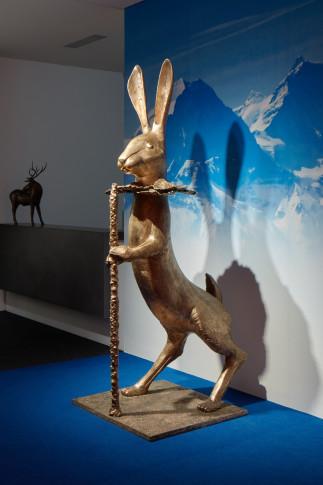 <span class=&#34;artist&#34;><strong>Claude Lalanne</strong></span>, <span class=&#34;title&#34;><em>Lapin de Victoire</em>, 2005</span>
