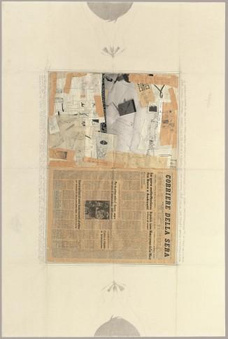 <span class=&#34;artist&#34;><strong>Alighiero Boetti</strong></span>, <span class=&#34;title&#34;><em>Tra Sé e Sé (Prima e Quarta di Copertina)</em>, 1976-1979</span>