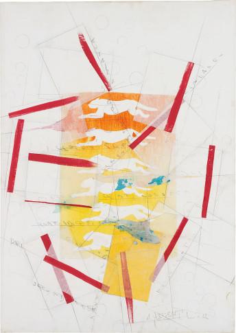 <span class=&#34;artist&#34;><strong>Alighiero Boetti</strong></span>, <span class=&#34;title&#34;><em>Senza Titolo (Pantere)</em>, 1990</span>