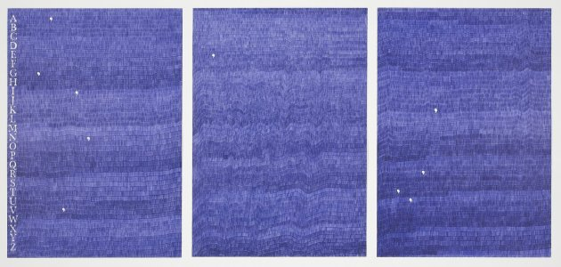 <span class=&#34;artist&#34;><strong>Gavin Turk</strong></span>, <span class=&#34;title&#34;><em>Gavin e Turk (Blue Biro)</em>, 2012</span>