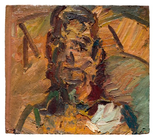 <span class=&#34;artist&#34;><strong>Frank Auerbach</strong></span>, <span class=&#34;title&#34;><em>Head of Ruth Bromberg</em>, 2001-2</span>
