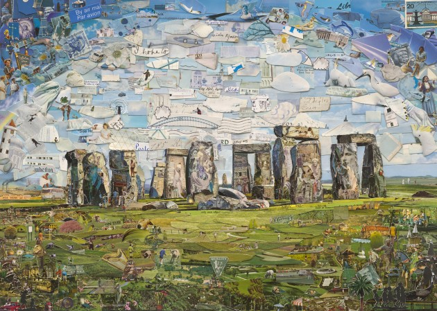 <em>Stonehenge (Postcards from Nowhere)</em>, 2015