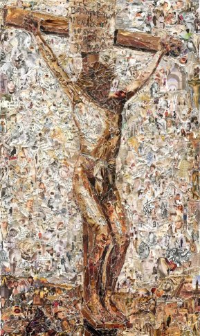 <span class=&#34;artist&#34;><strong>Vik Muniz</strong></span>, <span class=&#34;title&#34;><em>The Crucifixion, after Thomas Eakins</em>, 2011</span>