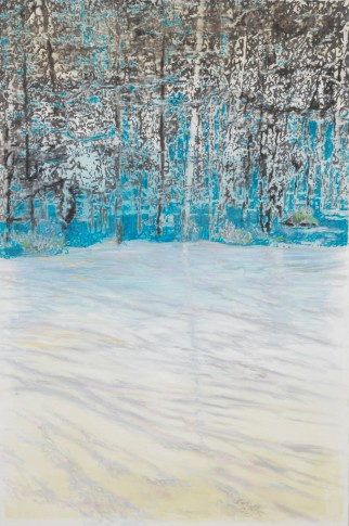 <span class=&#34;artist&#34;><strong>Ena Swansea</strong></span>, <span class=&#34;title&#34;><em>snow in Connecticut</em>, 2018</span>
