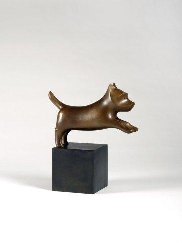 <span class=&#34;artist&#34;><strong>François-Xavier Lalanne</strong></span>, <span class=&#34;title&#34;><em>Chien héroïque I (petit)</em>, 1987</span>