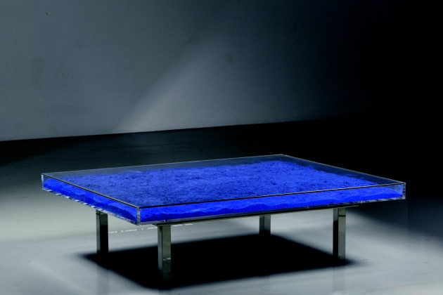 <em>Table Bleue Klein®</em>, 1961/1963