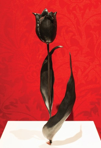 <em>Black Tulip after Judith Leyster</em>, 2012