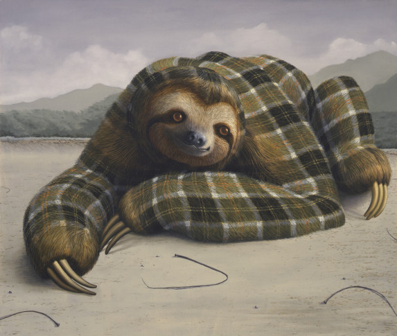 "<span class=""title"">Three-Toed Sloth<span class=""title_comma"">, </span></span><span class=""year"">2014</span>"