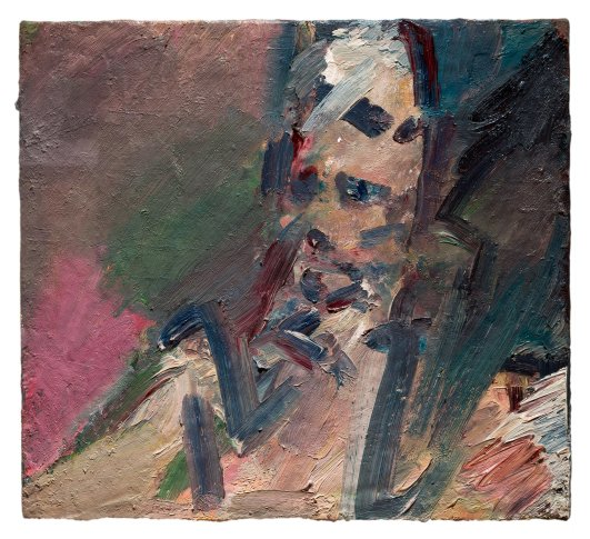 <span class=&#34;artist&#34;><strong>Frank Auerbach</strong></span>, <span class=&#34;title&#34;><em>Portrait of Catherine Lampert</em>, 2009-10</span>