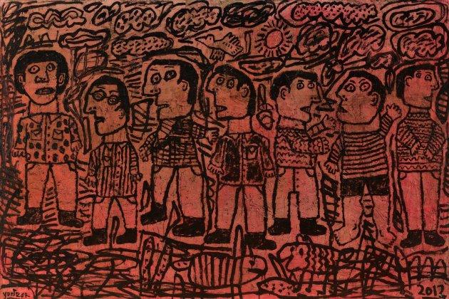 <span class=&#34;artist&#34;><strong>Yunizar</strong></span>, <span class=&#34;title&#34;><em>Kisah 4 (Story 4)</em>, 2012</span>