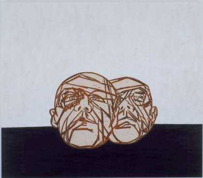 <span class=&#34;artist&#34;><strong>Tony Bevan</strong></span>, <span class=&#34;title&#34;><em>Heads Horizon</em>, 2006</span>