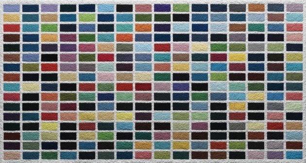 <span class=&#34;artist&#34;><strong>Vik Muniz</strong></span>, <span class=&#34;title&#34;><em>256 Colours, after Gerhard Richter (Pictures of Pigment)</em>, 2015</span>