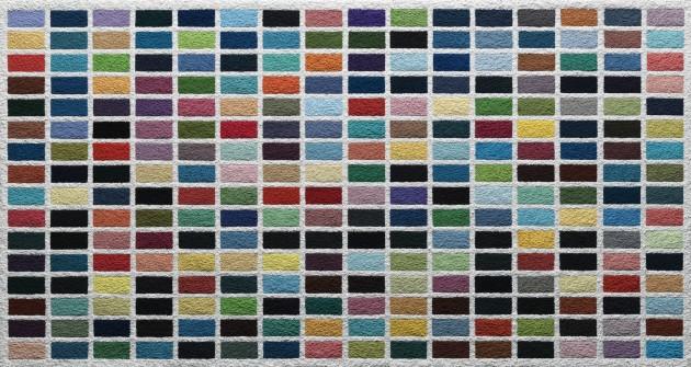 <span class=&#34;artist&#34;><strong>Vik Muniz</strong></span>, <span class=&#34;title&#34;><em>256 Colours, after Gerhard Richter (Pictures of Pigment)</em>, 2015</span>
