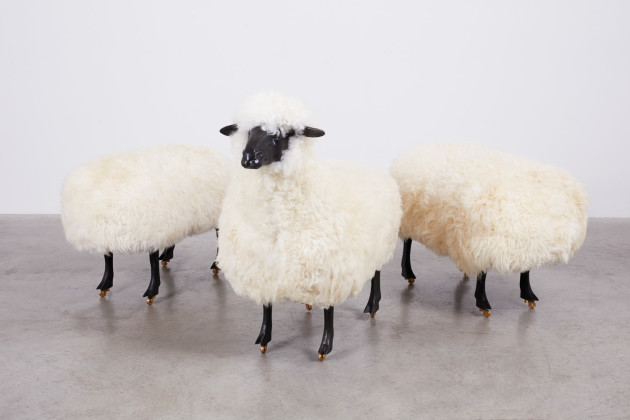 <span class=&#34;artist&#34;><strong>François-Xavier Lalanne</strong></span>, <span class=&#34;title&#34;><em>Moutons de Laine (Group of 3)</em>, 1965/1974</span>