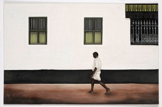<span class=&#34;artist&#34;><strong>Desmond Lazaro</strong></span>, <span class=&#34;title&#34;><em>Walking past a Chettinad Palace</em>, 2011</span>