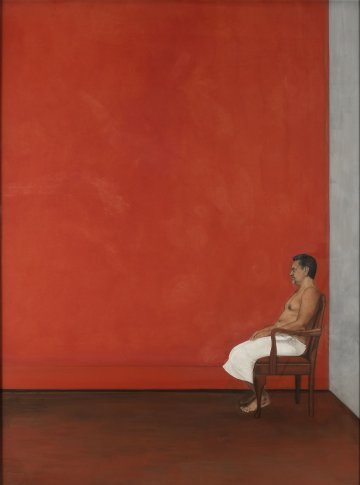 <span class=&#34;artist&#34;><strong>Desmond Lazaro</strong></span>, <span class=&#34;title&#34;><em>A Portrait in Red</em>, 2011</span>