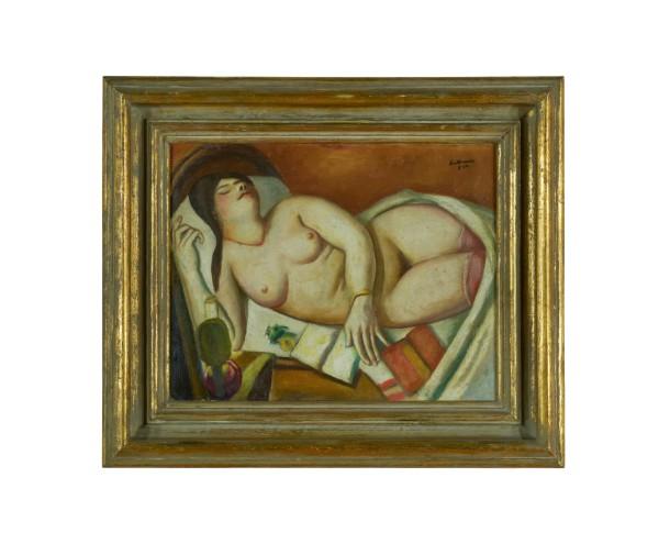 <span class=&#34;artist&#34;><strong>Max Beckmann</strong></span>, <span class=&#34;title&#34;><em>Schlafende</em>, 1924</span>