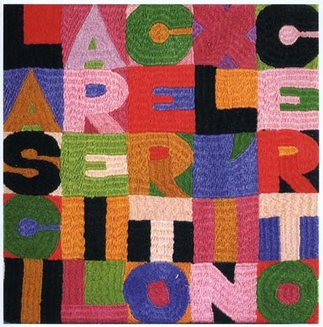 <span class=&#34;artist&#34;><strong>Alighiero Boetti</strong></span>, <span class=&#34;title&#34;><em>Lasciare il certo per l'incerto</em>, 1988</span>