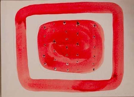 <span class=&#34;artist&#34;><strong>Lucio Fontana</strong></span>, <span class=&#34;title&#34;><em>Concetto Spaziale</em>, circa 1960</span>